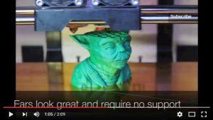 Yoda Head 3D Printer Making of