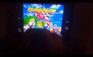 Mario Kart 64 on Firestick Splash Screen