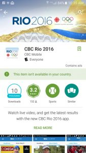 Stream Olympics on Android using the Rio 2016 APK file