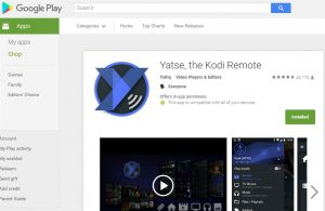 Use Yatse for XBMC Chromecast streaming setup