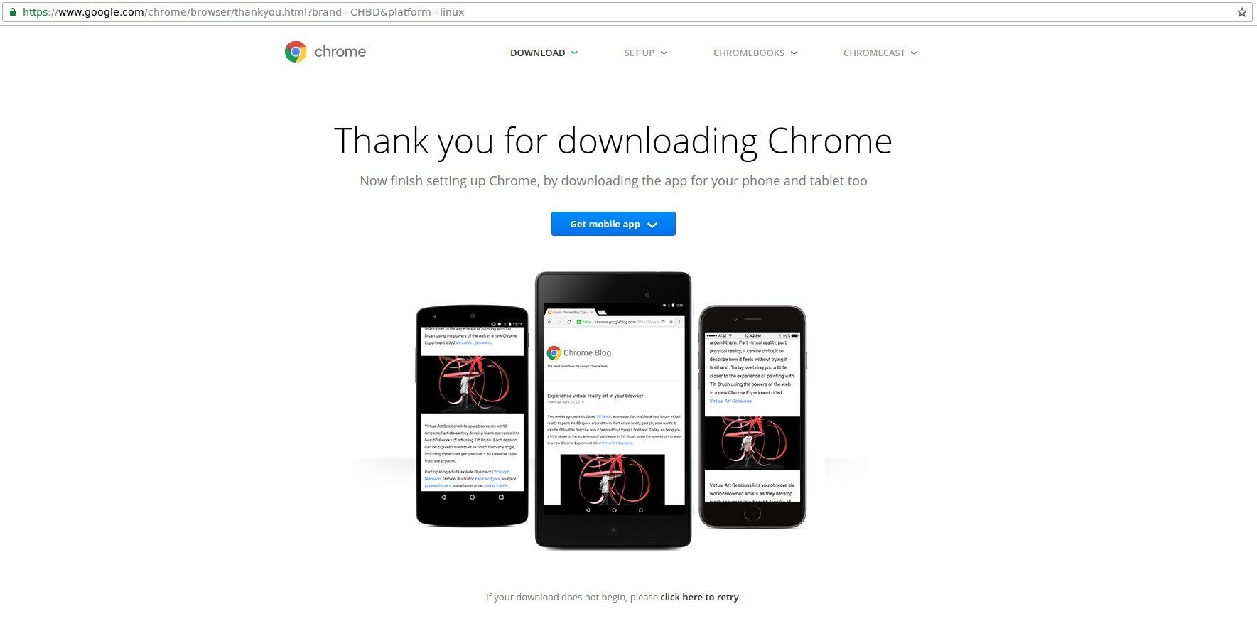 Chrome Offline Installer for PC, Mac, Android + Linux