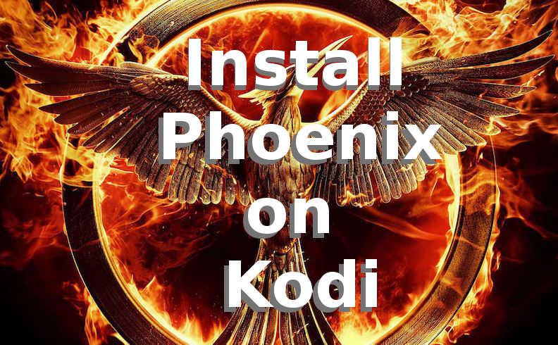 adding phoenix addon kodi