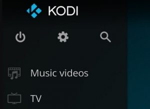 Kodi 17 System Button