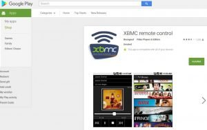 Official XBMC Remote App