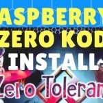 Raspberry Pi Zero Kodi Build Install: ZERO Tolerance Build