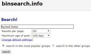 Binsearch usenet indexer