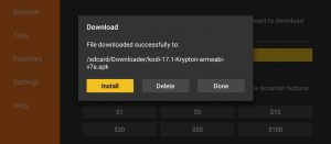 Downloader App Fire TV Firestick Screenshot APK Download