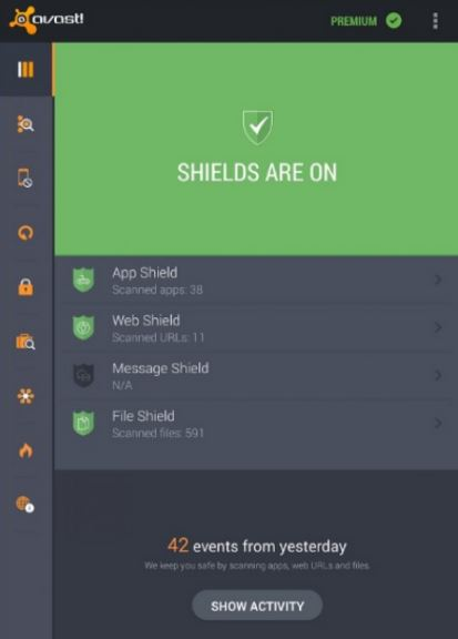 Best antivirus for Android: Avast