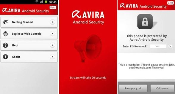 See the Best Android Security App: Avira antivirus for Android