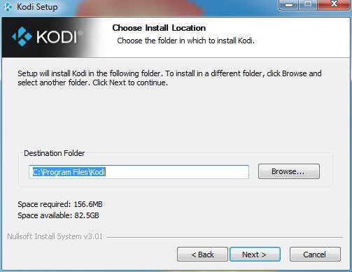 Install Kodi 17 64 Bit in Windows 8