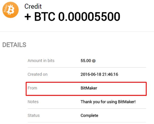 Bitmaker app for Bitcoin mining with your Phone
