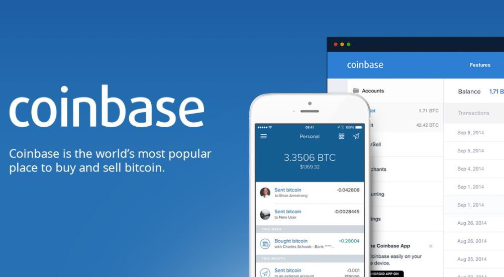 Buy Bitcoin from Coinbase!